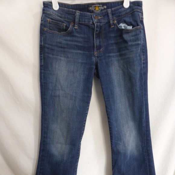 LUCKY BRAND Sweet Boot faded blue denim jeans, GUC